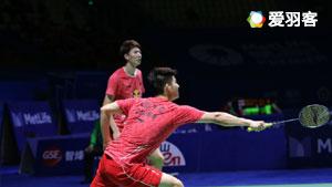 李俊慧/刘雨辰VS伊万诺夫/索松诺夫 2017香港公开赛 男双1/4决赛视频