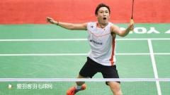 全日本锦标赛首轮丨桃田贤斗2比1逆转晋级