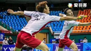 李龙大/柳延星VS姜志旭/李相俊 2017韩国大师赛 男双1/8决赛视频