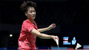 陈雨菲VS成池铉 2017世界羽联总决赛 女单小组赛视频