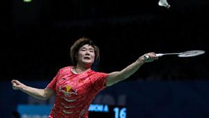 佐藤冴香VS何冰娇 2017世界羽联总决赛 女单小组赛视频
