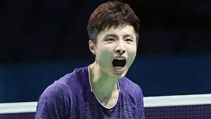 石宇奇VS斯里坎特 2017世界羽联总决赛 男单小组赛视频