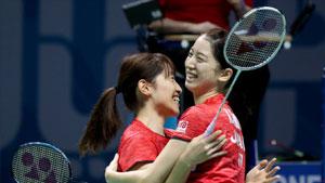 田中志穗/米元小春VS尤尔/佩蒂森 2017世界羽联总决赛 女双半决赛视频