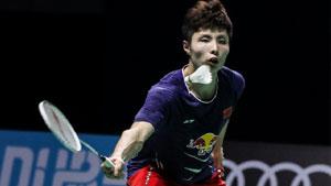 安赛龙VS石宇奇 2017世界羽联总决赛 男单半决赛视频