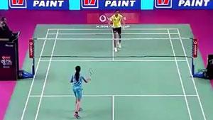 辛德胡VS阿丽吉塔 2018印度超级联赛 混合团体小组赛视频