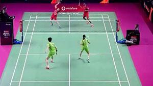 兰基雷迪/皮娅VS申白喆/沙旺特 2018印度超级联赛 混合团体小组赛视频