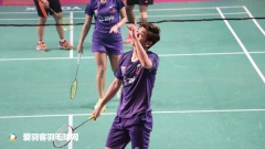 印度羽超第3日丨李龙大男双、混双均赢球