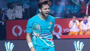 卡什亚普VS萨拉巴 2018印度超级联赛 男单小组赛视频