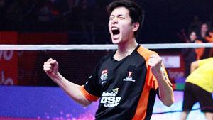 利弗德斯VS黄永棋 2018印度超级联赛 混合团体小组赛视频