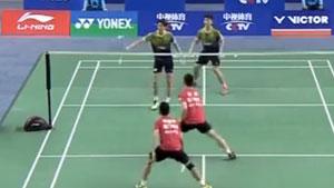 刘成/郑思维VS李俊慧/刘雨辰 2017中国羽超联赛 混合团体小组赛视频