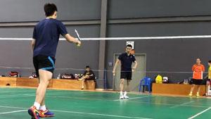 李宗伟备战2018亚锦赛训练曝光,轻松吊打对手