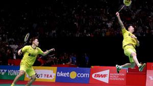 苏卡穆约/费尔纳迪VS埃特里/雷迪 2018印度公开赛 男双1/4决赛视频
