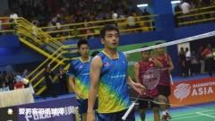 双蔚关键场输球,李宗伟赢球无力回天丨亚锦团体赛