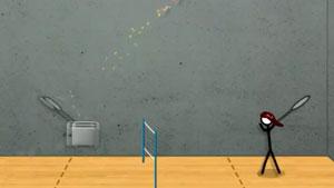 """两个""""逗逼""""玩羽毛球网页游戏,看得尴尬癌都犯了!"""