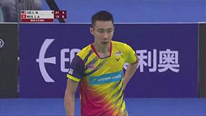 李宗伟VS伍家朗 2018亚洲团体锦标赛 男团1/4决赛视频