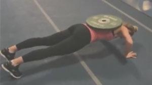 英格兰美女加布里的训练日常,当运动员竟如此辛苦!