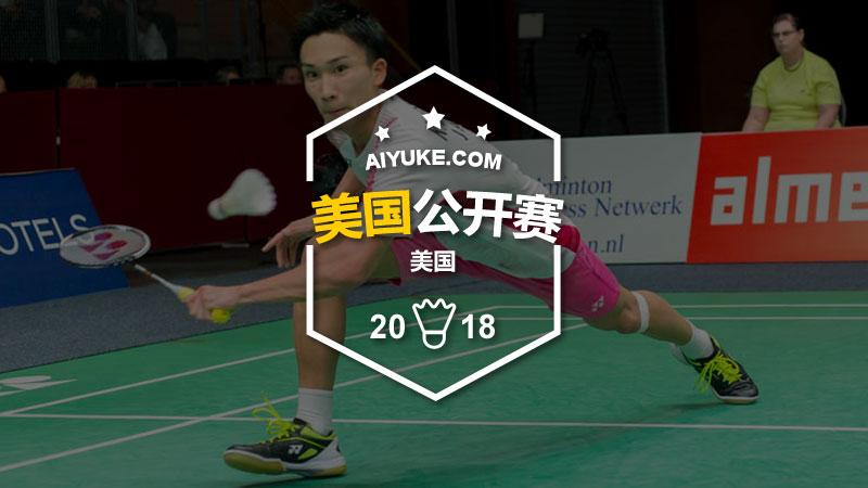 2018年美国羽毛球公开赛