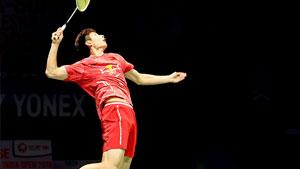石宇奇VS金廷 2018德国公开赛 男单1/4决赛视频
