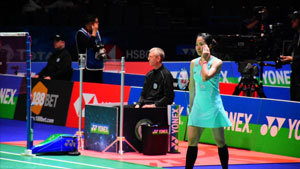 李文珊VS因达农 2018全英公开赛 女单1/16决赛视频