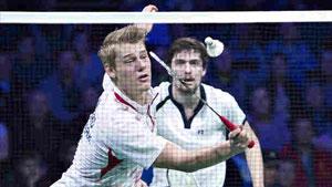 克里斯蒂安森/大卫VS布里格斯/沃尔芬登 2018全英公开赛 男双1/16决赛视频