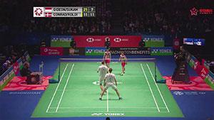 苏卡穆约/费尔纳迪VS彼德森/科丁 2018全英公开赛 男双半决赛视频