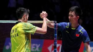 全英男单半决赛集锦,林丹这个骚操作,黄宇翔看呆了