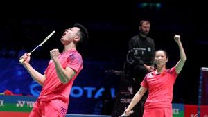 2分钟看完混双半决赛:郑思维/黄雅琼vs佩蒂森/克里斯蒂安森