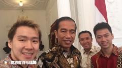 """印尼总统接见""""苏菲组合"""",费尔纳迪趁机邀请总统出席婚礼"""