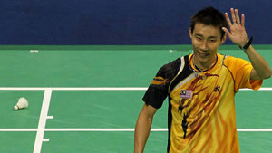 李宗伟VS欧斯夫 2010英联邦运动会羽毛球 男单决赛视频