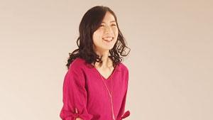 大堀彩拍摄服装广告,穿上休闲装你还认识她吗?