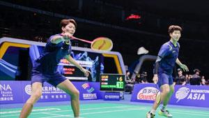 李俊慧/刘雨辰VS嘉村健士/园田启悟 2018亚锦赛 男双决赛视频