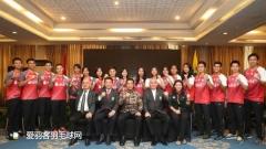 印尼举行汤尤杯动员大会,苏卡穆约会前专心玩游戏
