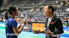 韩悦打入8强,国羽男双全军覆没丨澳洲赛1/8决赛