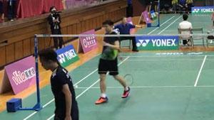 吕家弘VS王子维 2018中国台湾团体锦标赛 男团半决赛视频