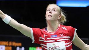 尤杯丨丹麦米娅强势进攻,陈雨菲非压迫性失误送掉比赛!