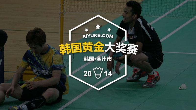 2014年韩国羽毛球黄金大奖赛