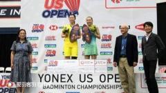 美国公开赛丨国羽取三冠,李雪芮力克张蓓雯封后