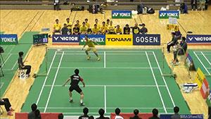 常山干太VS五十岚优 2018全日本实业俱乐部锦标赛 男单决赛视频