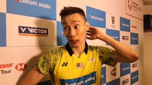 李宗伟丨意外对阵苏吉亚托谁都不想打第三局