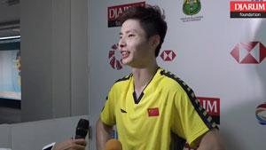 印尼公开赛丨石宇奇轻松晋级尬聊安利南京
