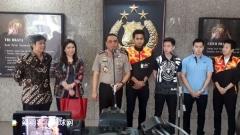 印尼警察总局副局长会见苏卡穆约/费尔纳迪