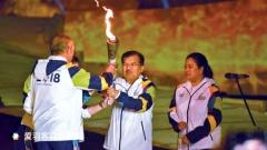 2018年亚运会火炬传递,在印尼境内开始