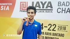 印度17岁黑马亚青赛男单夺冠,他曾与林丹打满三局