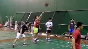 印尼羽毛球队打篮球,竟然没有一个人投中!