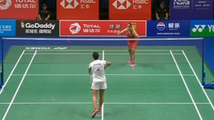 内维尔VS阿莉耶 2018羽毛球世锦赛 女单资格赛视频