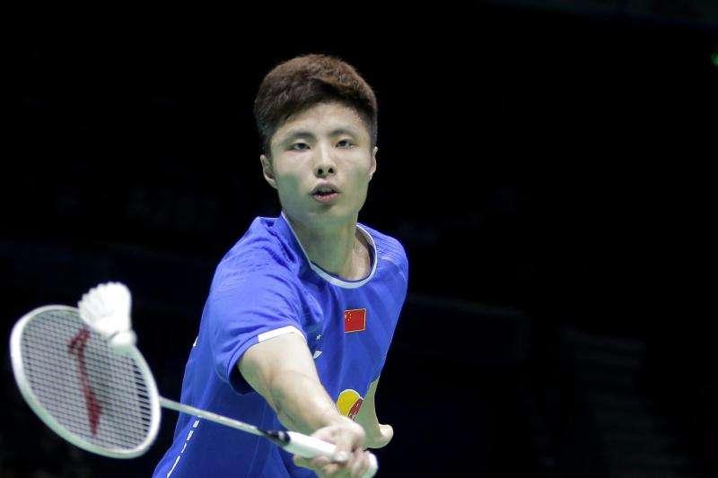 石宇奇VS欧斯夫 2018羽毛球世锦赛 男单1/16决赛视频