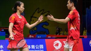 郑思维/黄雅琼VS蓬纳帕/兰基雷迪 2018羽毛球世锦赛 1/4决赛365bet体育在线