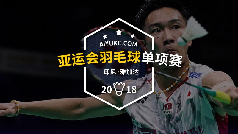2018年亚运会羽毛球单项赛