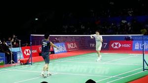 【精彩低视角】2018年印尼公开赛,桃田贤斗vs李宗伟