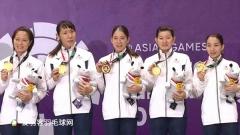中国女团1-3日本,日本女团48年后重夺亚运女团金牌